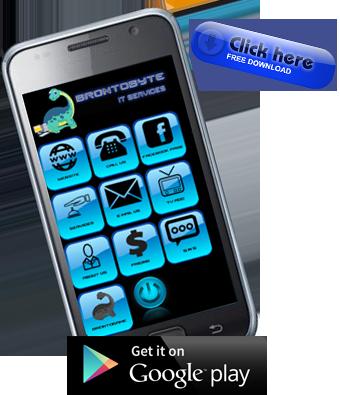 Brontobyte phone app
